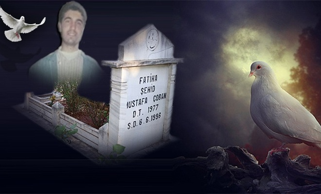 Şehid Mustafa Çoban kabri başında rahmetle anıldı