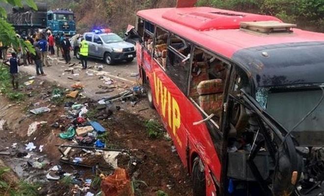 Gana'da katliam gibi kaza: 60 ölü