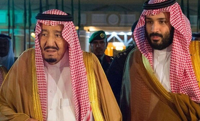 Suudi Kralı'ndan ABD'nin işgal rejimiyle ilgili girişimlerine destek