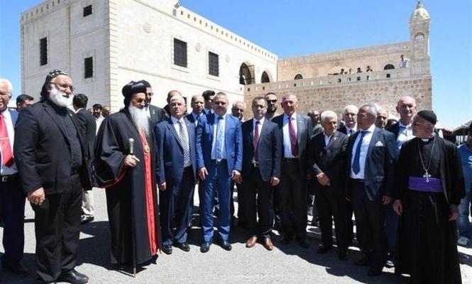 Church built in a village where no Assyrian live