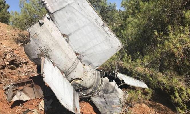 Gaziantep`te rokete ait enkaz bulundu