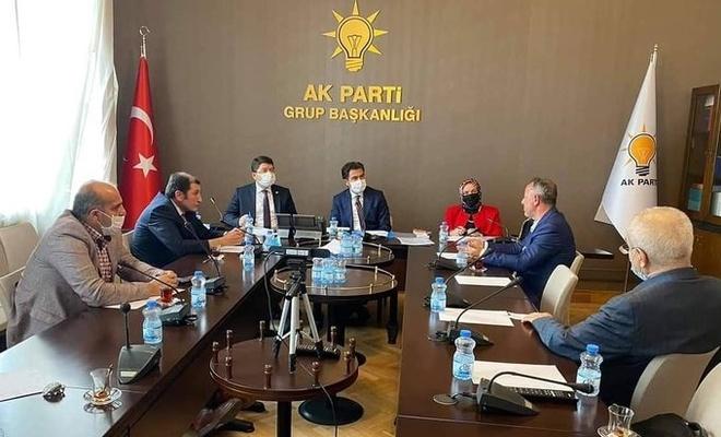 Türkiye Aile Birliği üyeleri AK Parti Grup Başkanvekili ile görüştü
