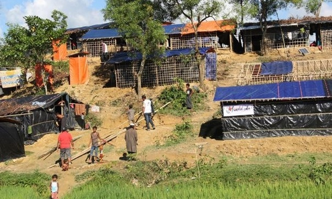 Tent house from Pro-Orphan and IHO EBRAR for Arakanese