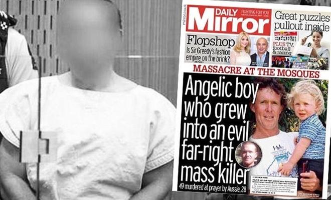 Daily Mirror teröristi 'melek çocuk' yaptı, BBC 'terör' diyemedi!