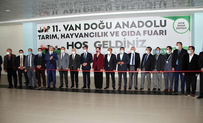 Doğu Anadolu Tarım, Hayvancılık ve Gıda Fuarı Van'da başladı
