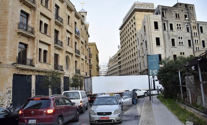 Lübnan'da liranın değer kaybetmesi protesto edildi