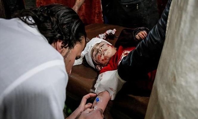 Baas rejimi yine sivilleri hedef aldı: 58 ölü