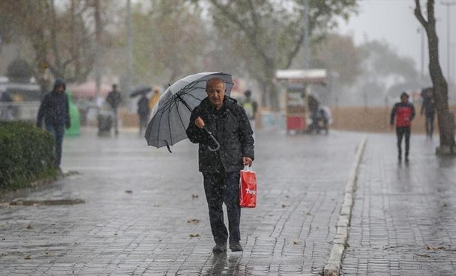 Meteorolojiden 9 il için kuvvetli yağış uyarısı