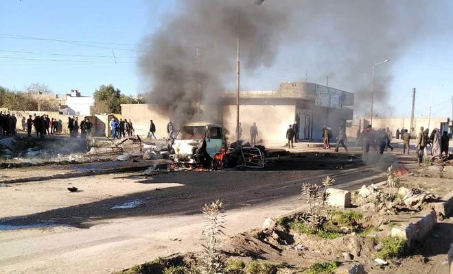 Tel Abyad'da patlama: 2 ölü 4 yaralı