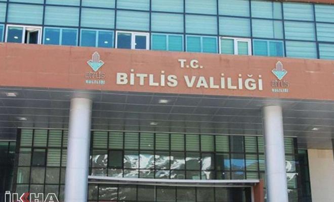 Bitlis Valiliğinden kentte yapılacak etkinliklere ilişkin açıklama