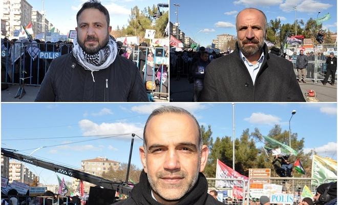 """Diyarbakır'daki """"Kudüs"""" mitingine katılan ilahi ses sanatçıları: Kudüs'e sahip çıkmalıyız"""