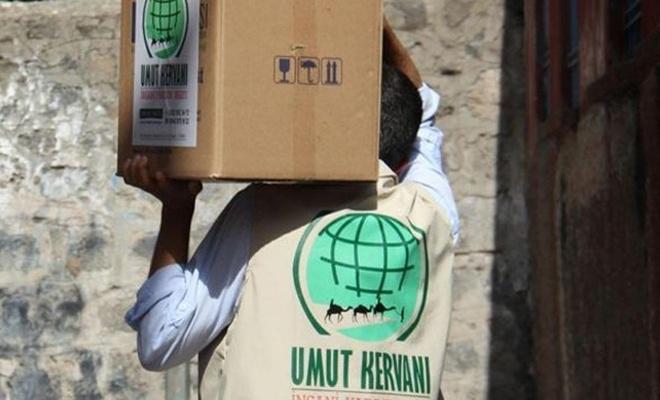 Diyarbakır Umut Kervanı Ramazan`da binlerce ailenin yüzünü güldürdü