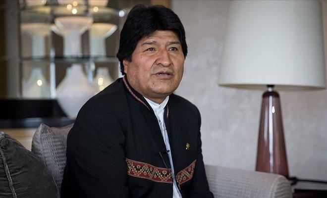 Morales'ten Bolivya'ya çağrı