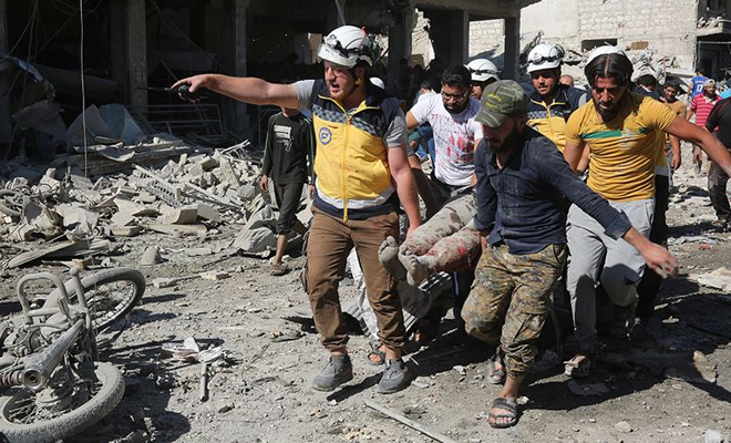 BAAS rejimi ve Rusya'nın vurduğu İdlib'te ölü sayısı artıyor