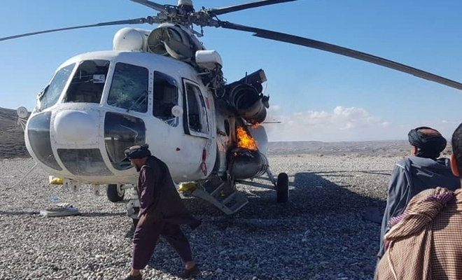 Afganistan'da Taliban yabancı güçlere ağır darbe