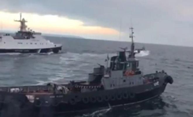 Rusya alıkoyduğu Ukrayna gemilerini iade etti