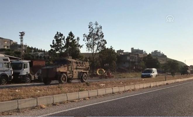 Suriye sınırına komando takviyesi yapıldı