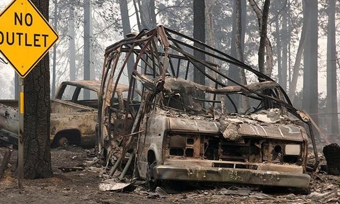 California`daki yangında can kaybı artıyor