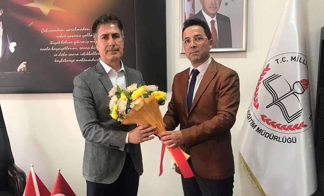 Ergani İlçe Milli Eğitim Müdürlüğüne yeniden Demir Ernez getirildi