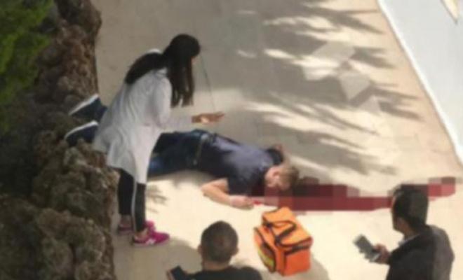 Balkondan düşen turist, öldü