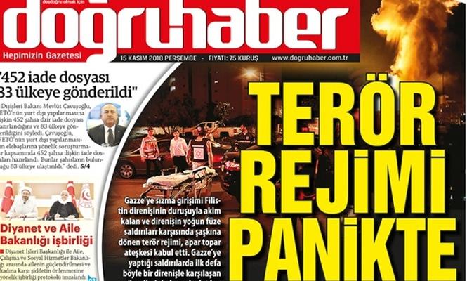 Terör rejimi panikte