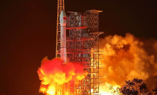 Çin, 2019'da ilk navigasyon uydusunu fırlattı