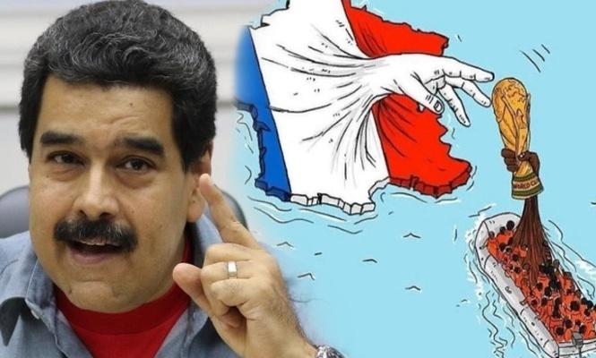 Maduro: Dünya kupasını aslında Afrika kazandı!
