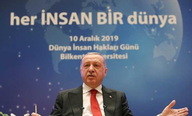 We stand by all the downtrodden wherever they are in the world: Erdoğan
