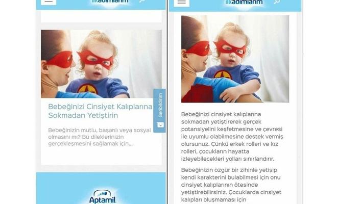 Bebek maması firmasının skandal ifadelerine tepki