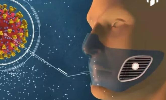 Koronavirüsü tespit eden maske