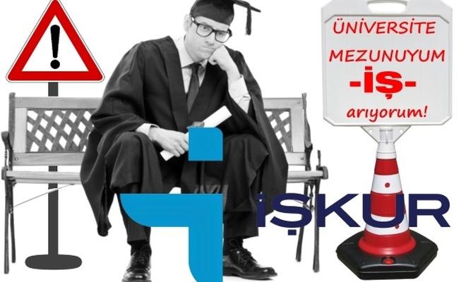 İŞ-KUR`dan üniversite mezunlarına kurs+maaş+iş