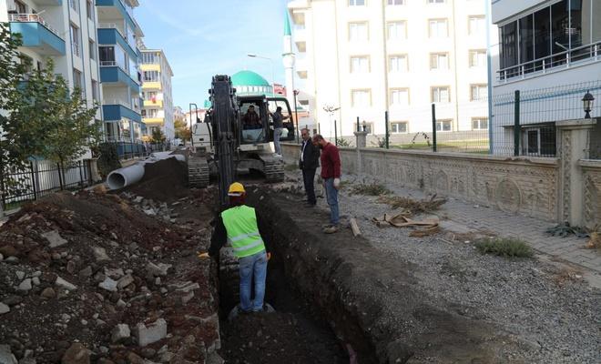 Bingöl'de alt ve üst yapı çalışmaları devam ediyor