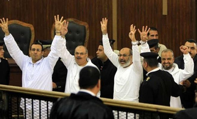 İhvan-ı Müslimin liderlerinin de aralarında bulunduğu 12 kişi hakkındaki idam cezası onandı
