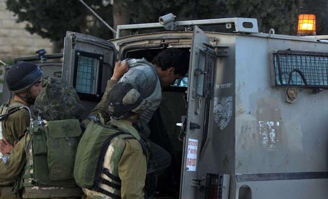 Batı Şeria ve Kudüs'te 10 Filistinli alıkonuldu