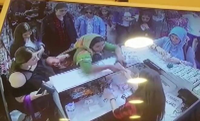 Sahte para ile alışveriş yapmak istedi, yakalandı