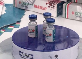 İran Sağlık Bakanlığı yerli aşı COVIRAN Bereket'e acil kullanım izni verdi