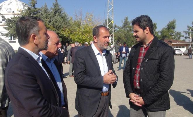 Gazeteci Mehmet Toprak'ın babası defnedildi