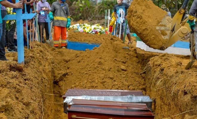 Brezilya'da Covid-19'dan ölenlerin sayısı 63 bini aştı