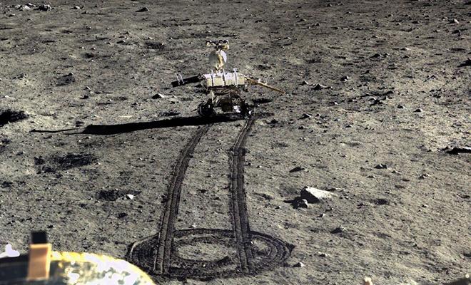 Çin Ay'ın karanlık yüzünde 190 m yol aldı
