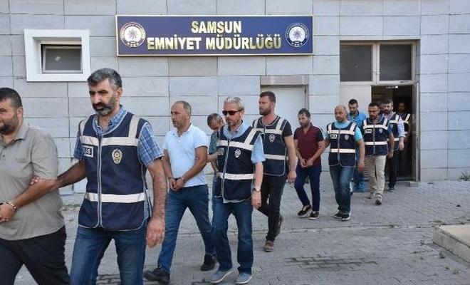 Tahliye sözü verip rüşvet alan 10 kişi yakalandı