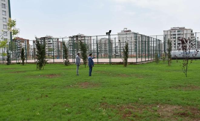 Diyarbakır Bağlar'a 6 bin 500 metrekarelik park projesi