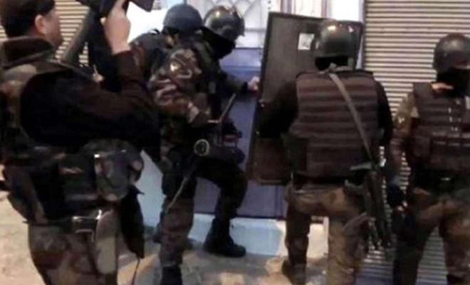 İstanbul'da PKK'ye eş zamanlı operasyon