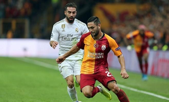 Galatasaray evinde Real Madrid'e kaybetti