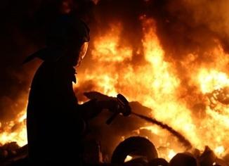 Marmara Üniversitesinde yangın