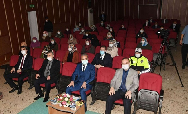 """Adıyaman'da """"En İyi Narkotik Polis Anne"""" projesi başladı"""