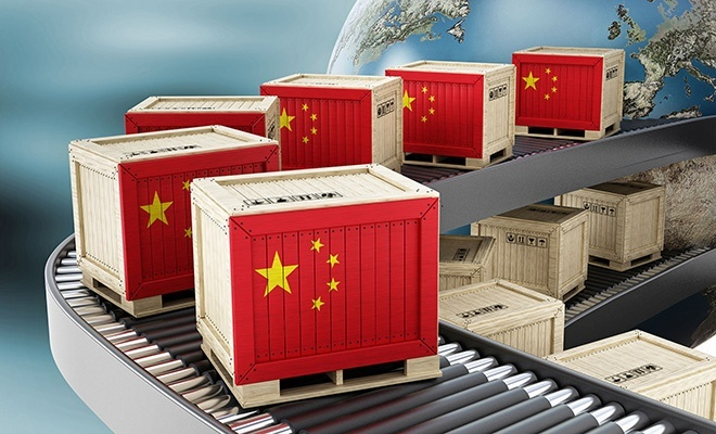 Çin'de ihracat beklenenden fazla arttı