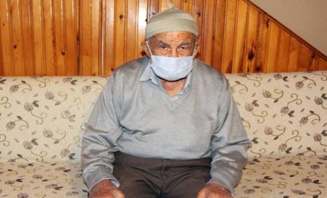 93 yaşındaki Nuri Dede hastaneye bile yatmadan COVID-19'u yendi