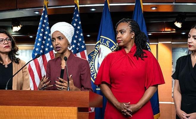 Trump Müslüman kadın vekilleri hedef almaya devam ediyor