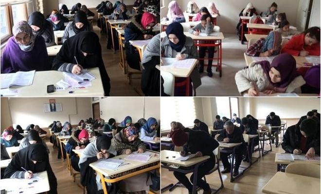 Trabzon`da Siyer Sınavına her yaştan katılım oldu