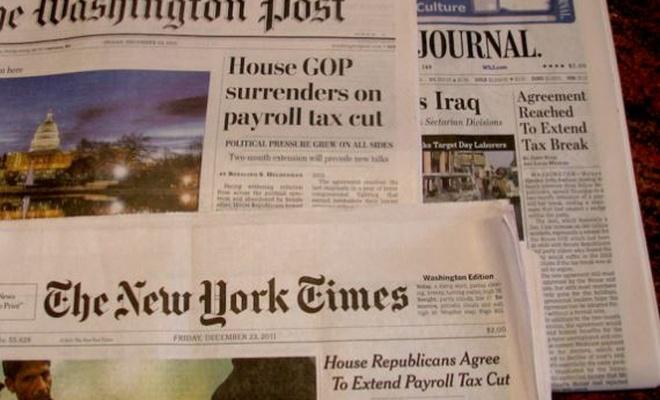 Beyaz Saray'dan Amerikan yazılı basınına darbe